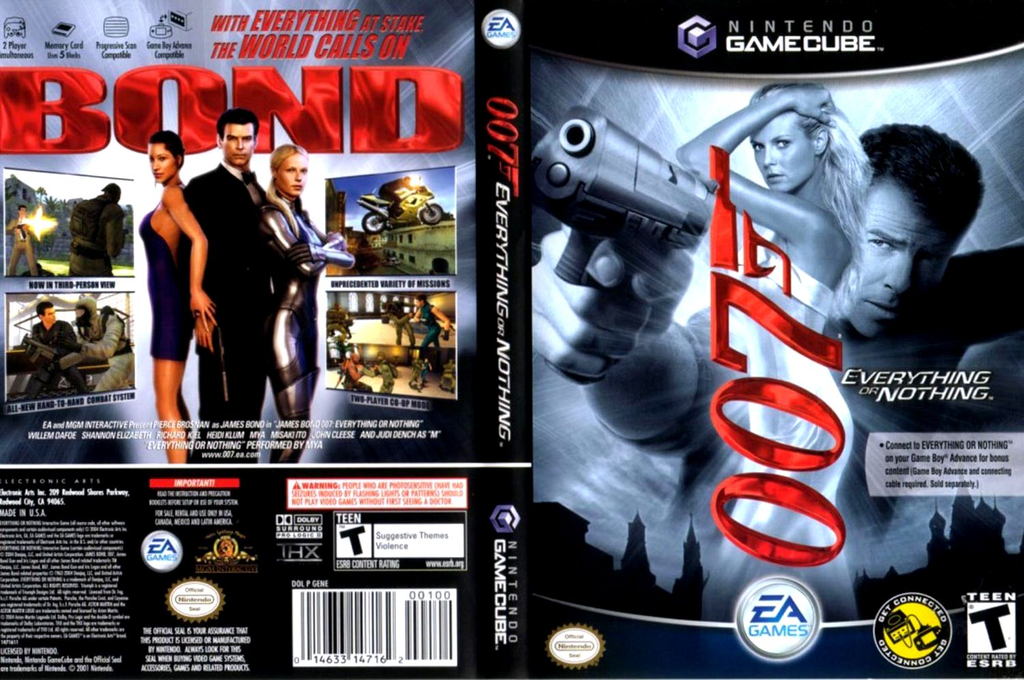 007: Everything or Nothing Wii coverfullHQ (GENE69)