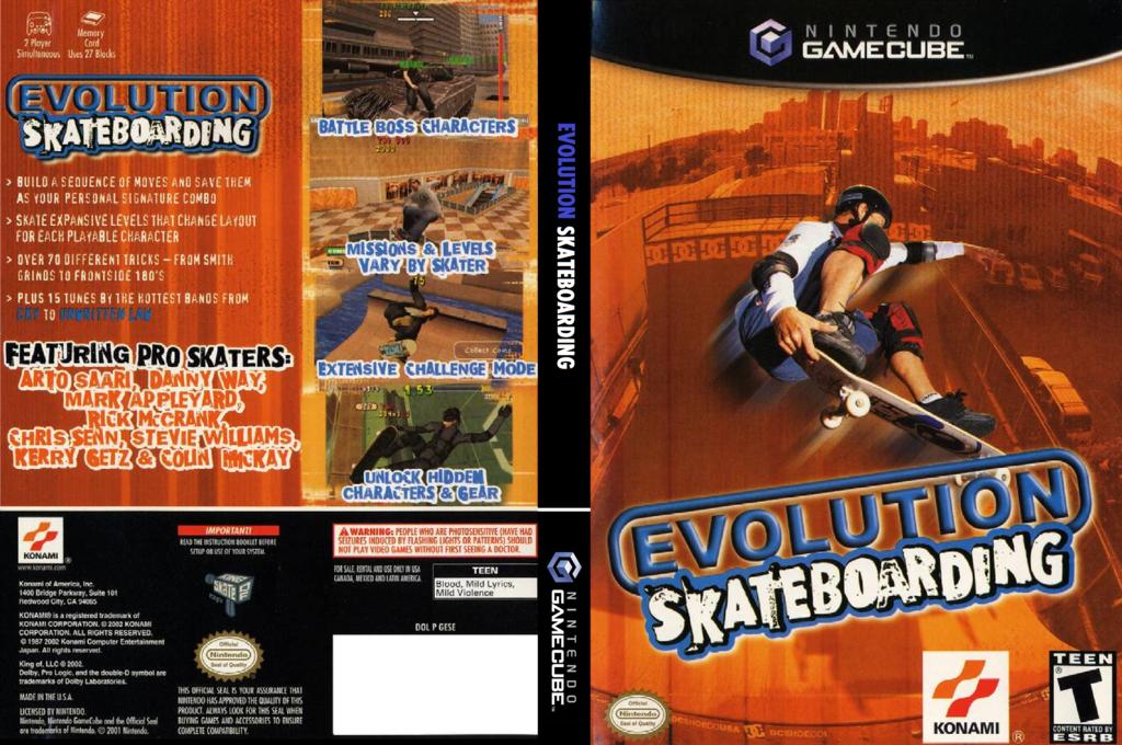 Evolution Skateboarding Wii coverfullHQ (GESEA4)