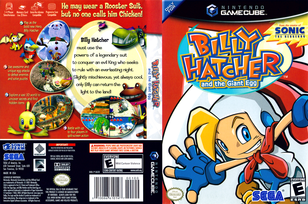Billy Hatcher and the Giant Egg Wii coverfullHQ (GEZE8P)