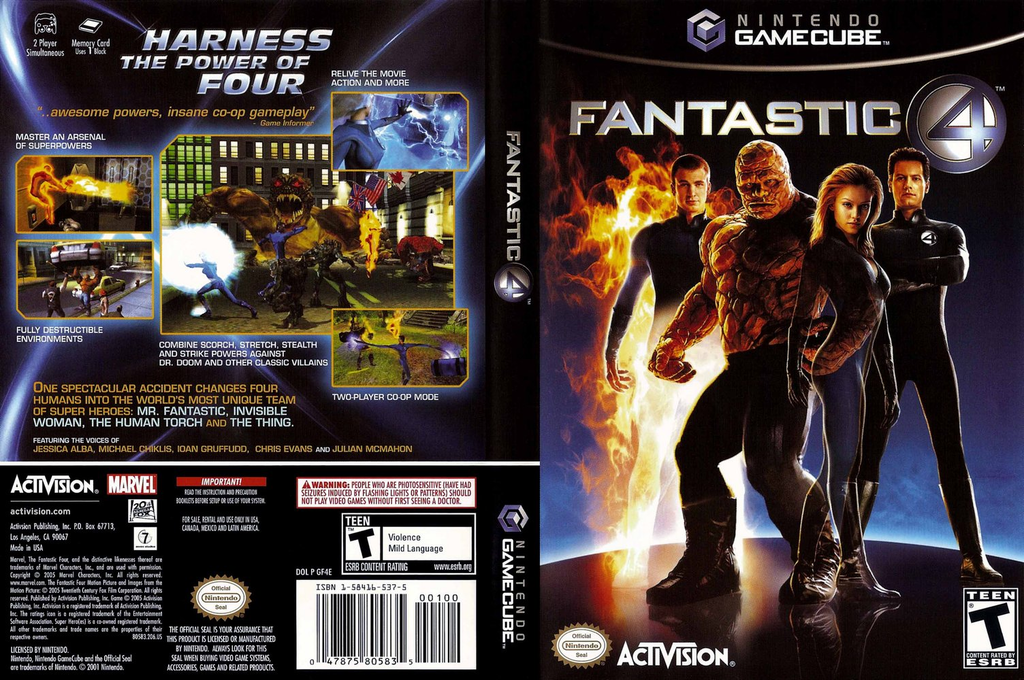 Fantastic 4 Wii coverfullHQ (GF4E52)