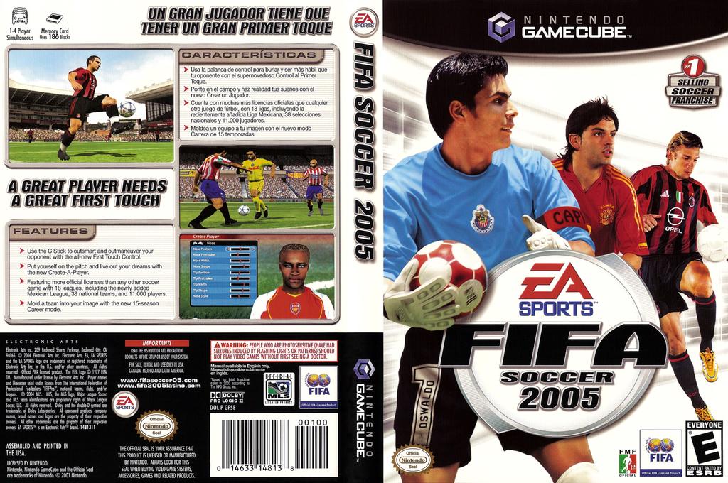 FIFA Soccer 2005 Wii coverfullHQ (GF5E69)