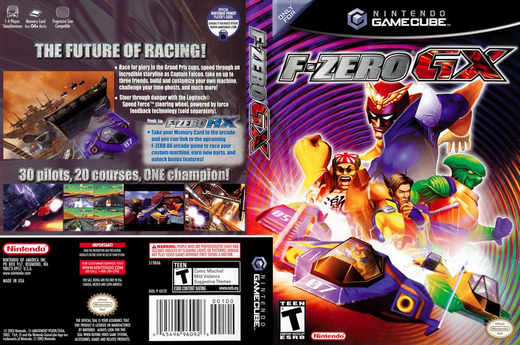 F-Zero GX Wii coverfullHQ (GFZE01)