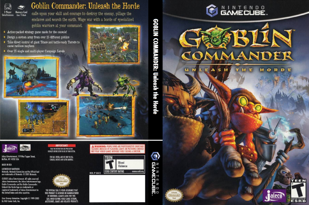 Goblin Commander: Unleash The Horde Wii coverfullHQ (GGCE0A)