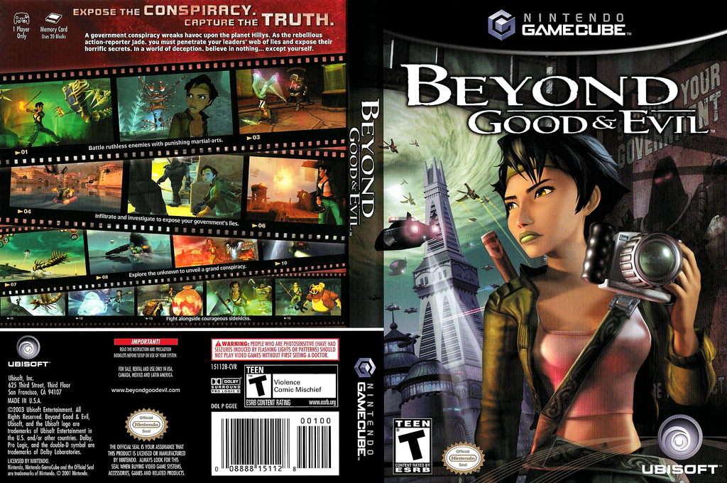 Beyond Good & Evil Wii coverfullHQ (GGEE41)
