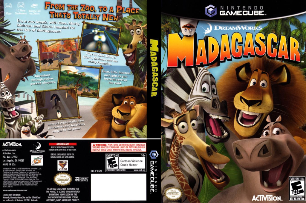 Madagascar Wii coverfullHQ (GGZE52)