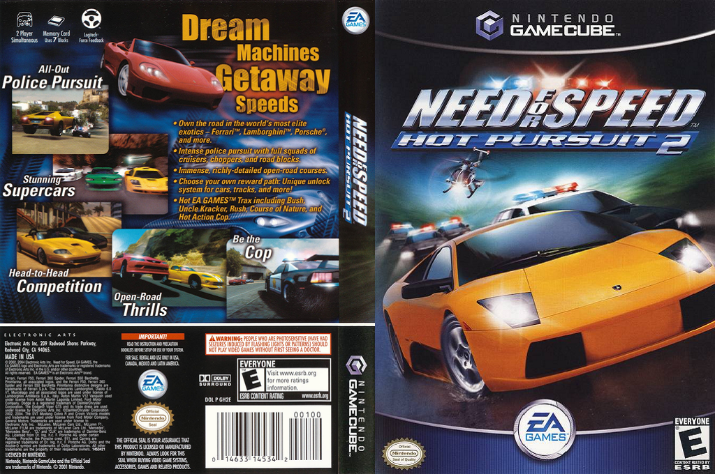 Need for Speed: Hot Pursuit 2 Wii coverfullHQ (GH2E69)