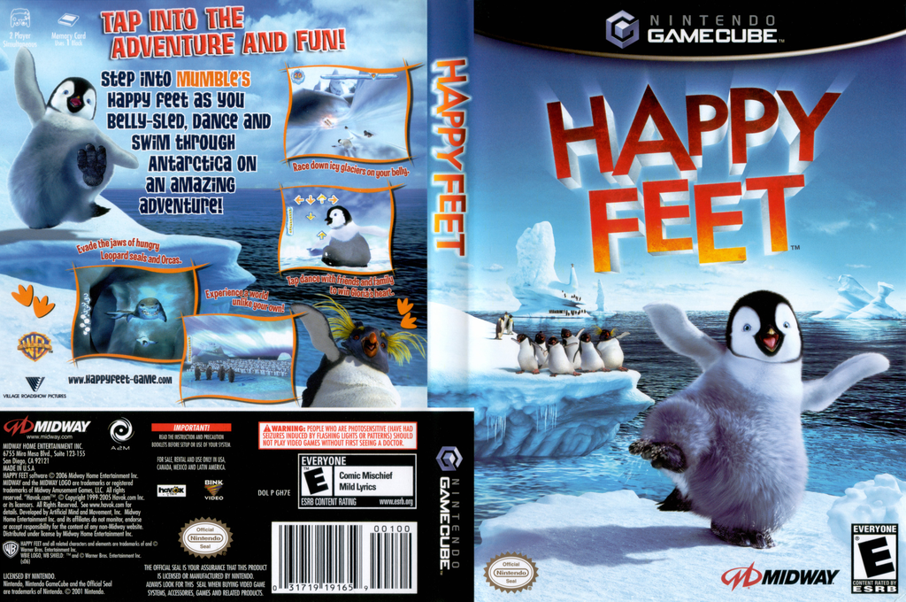 Happy Feet Wii coverfullHQ (GH7E5D)