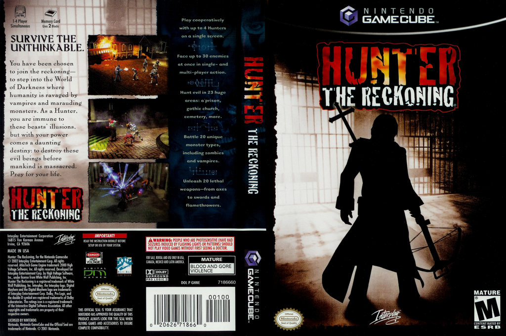 Hunter: The Reckoning Wii coverfullHQ (GHNE71)