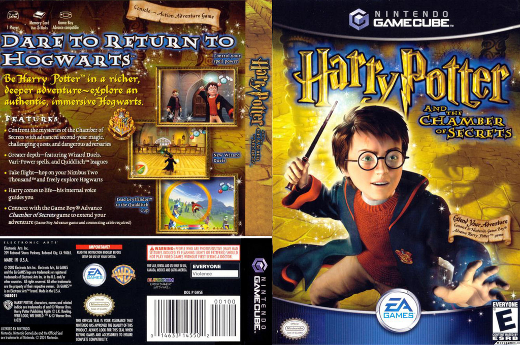 Harry Potter and the Chamber of Secrets Wii coverfullHQ (GHSE69)