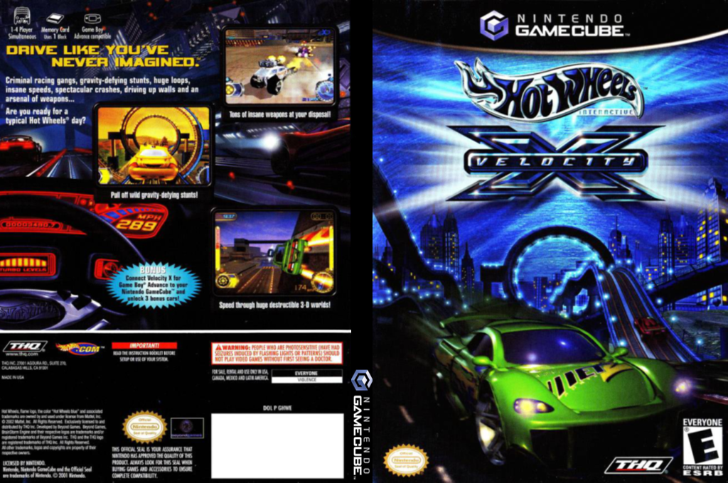 Hot Wheels: Velocity X Wii coverfullHQ (GHWE78)