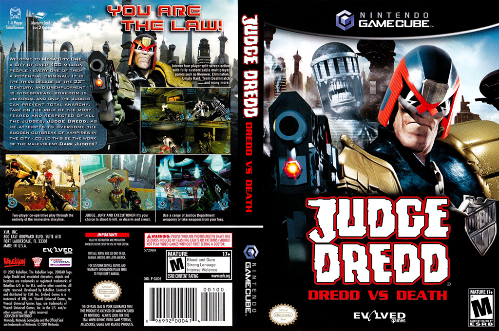 Judge dredd dredd vs death ps2 review