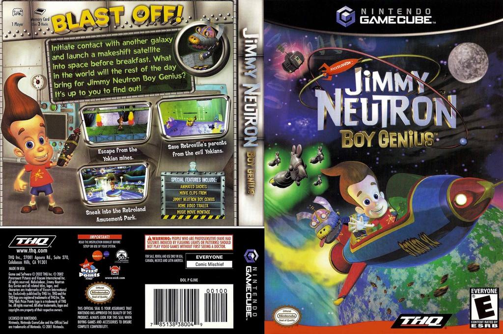 Jimmy Neutron Boy Genius Wii coverfullHQ (GJNE78)