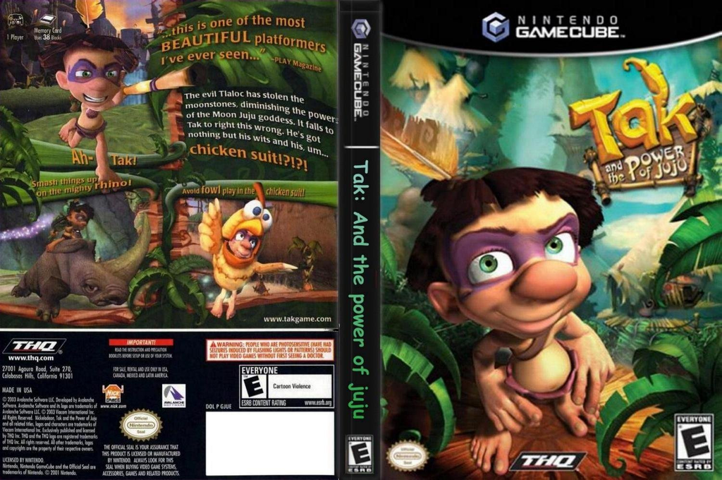 Tak and the Power of Juju Wii coverfullHQ (GJUE78)