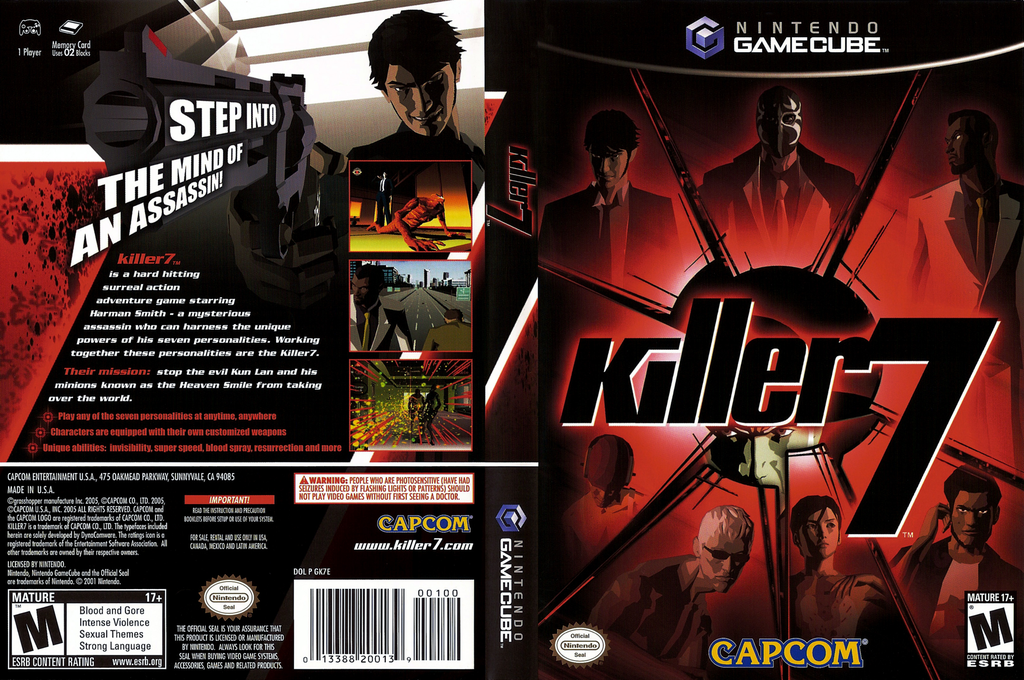 Killer7 Wii coverfullHQ (GK7E08)