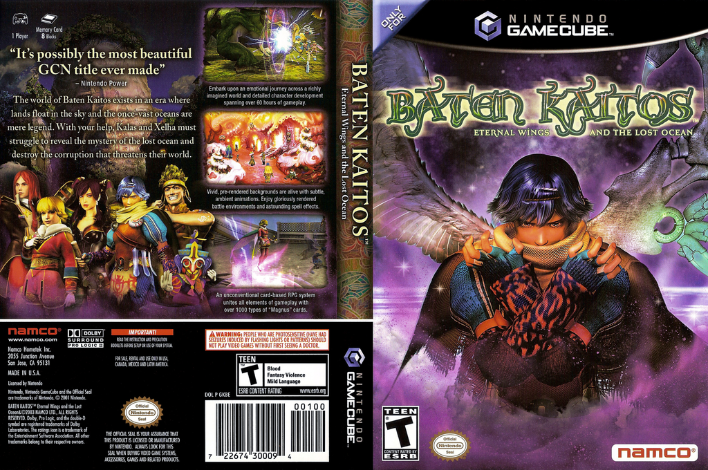 Baten Kaitos Eternal Wings and the Lost Ocean Wii coverfullHQ (GKBEAF)