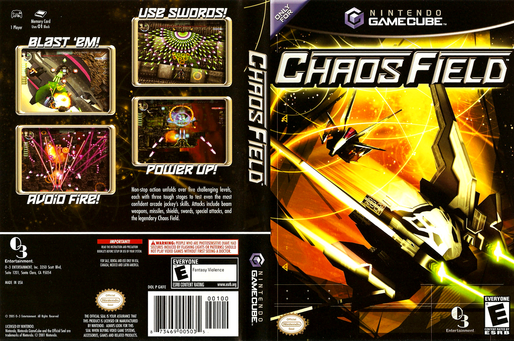 Chaos Field Wii coverfullHQ (GKFEGG)