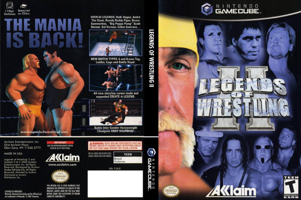 Legends of Wrestling 2 Array coverfullHQ (GL2E51)