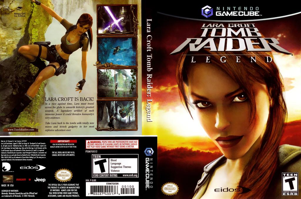 Lara Croft Tomb Raider: Legend Array coverfullHQ (GL8E4F)