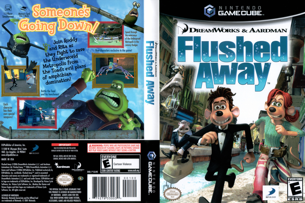 Flushed Away Wii coverfullHQ (GLHEG9)