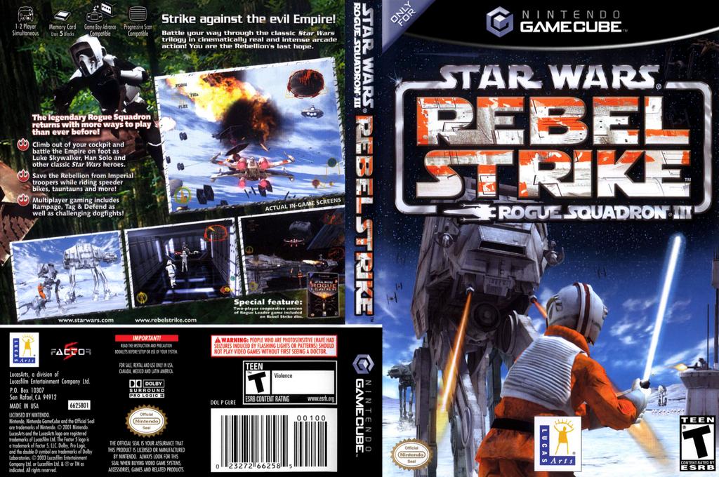 Star Wars Rogue Squadron III: Rebel Strike Array coverfullHQ (GLRE64)