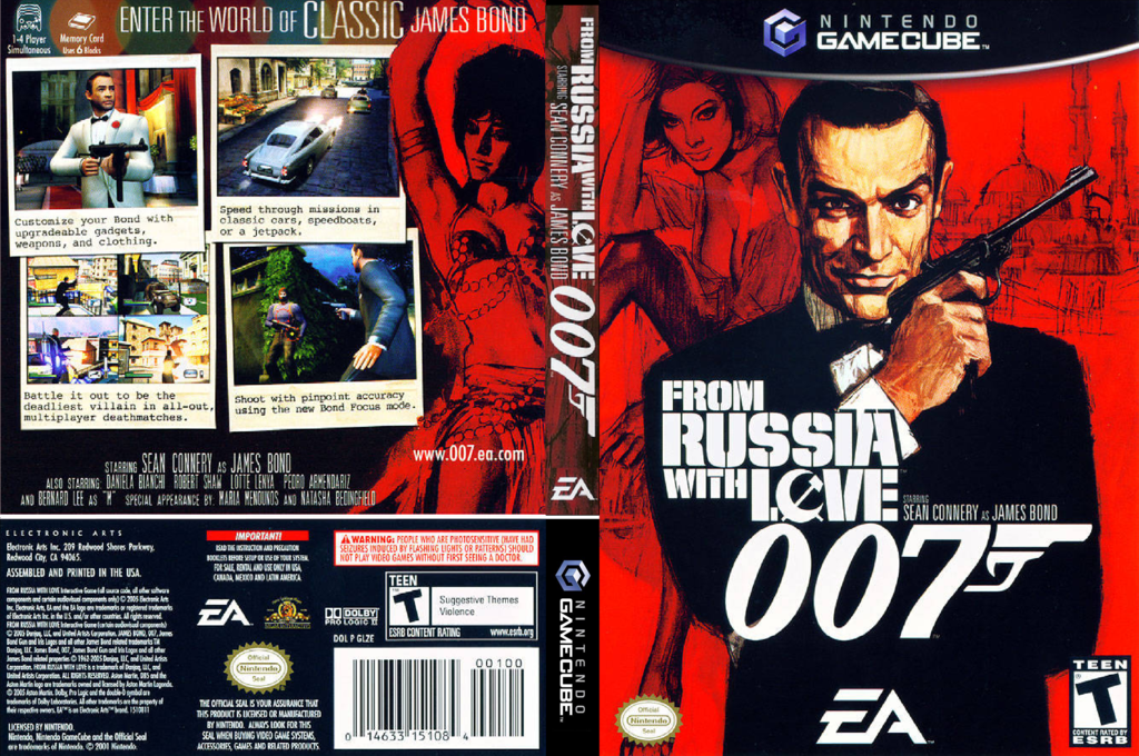 007: From Russia With Love Wii coverfullHQ (GLZE69)