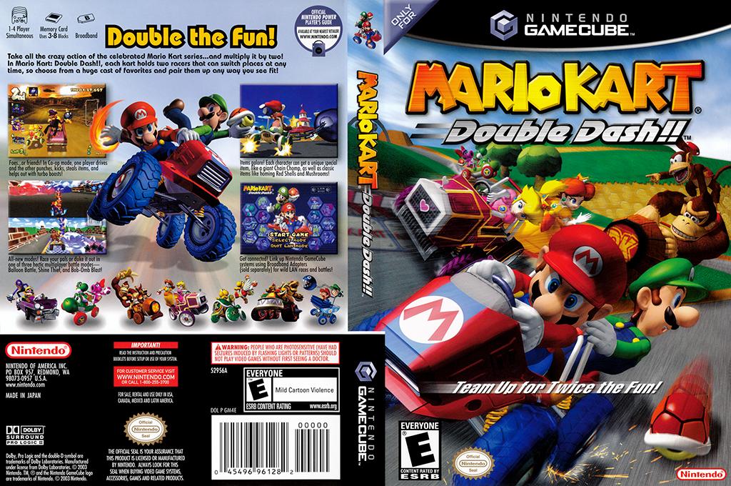Mario Kart: Double Dash!! Wii coverfullHQ (GM4E01)