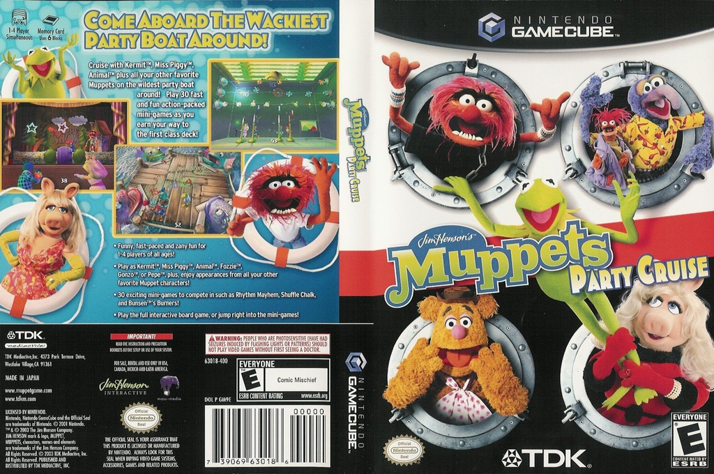 Muppets Party Cruise Wii coverfullHQ (GM9E6S)