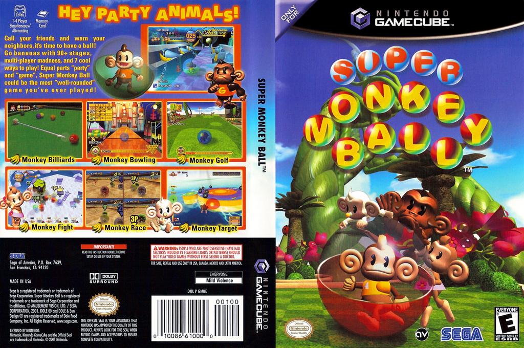 Super Monkey Ball Wii coverfullHQ (GMBE8P)