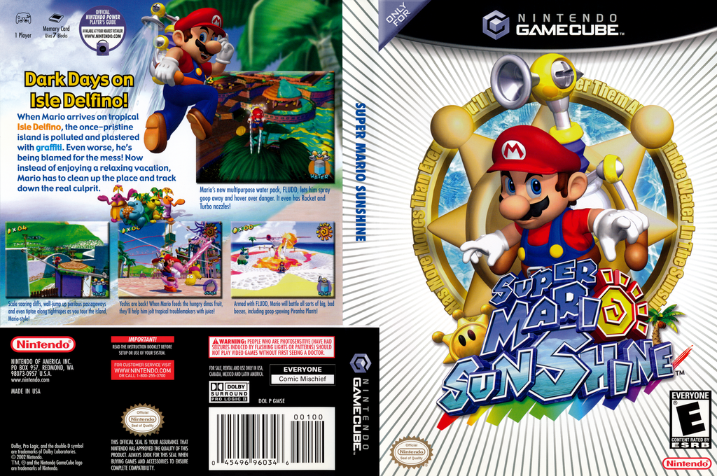 Super Mario Sunshine Wii coverfullHQ (GMSE01)