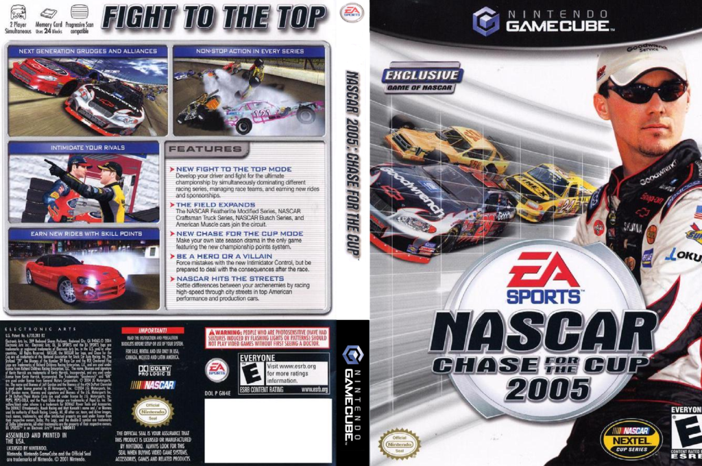 Nascar 2005: Chase For The Cup Wii coverfullHQ (GN4E69)