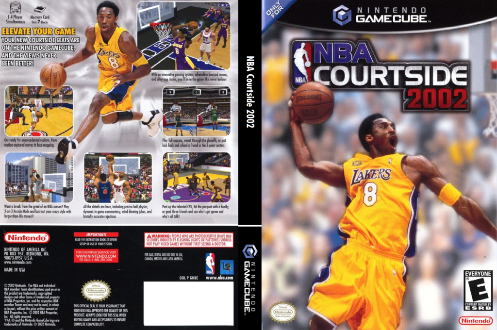 NBA Courtside 2002 Array coverfullHQ (GNBE01)