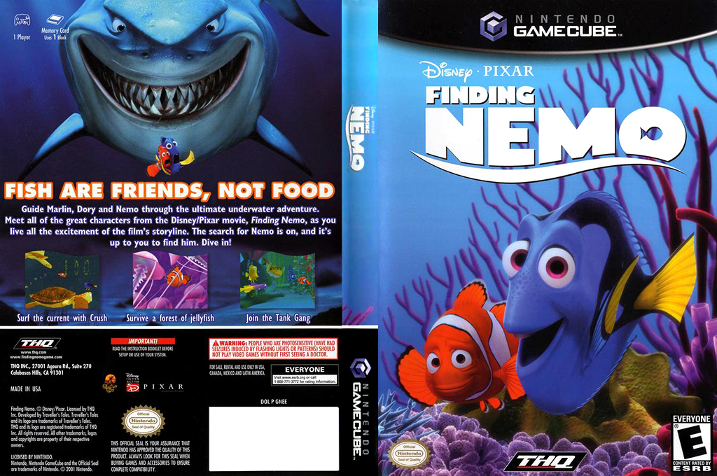 Finding Nemo Wii coverfullHQ (GNEE78)
