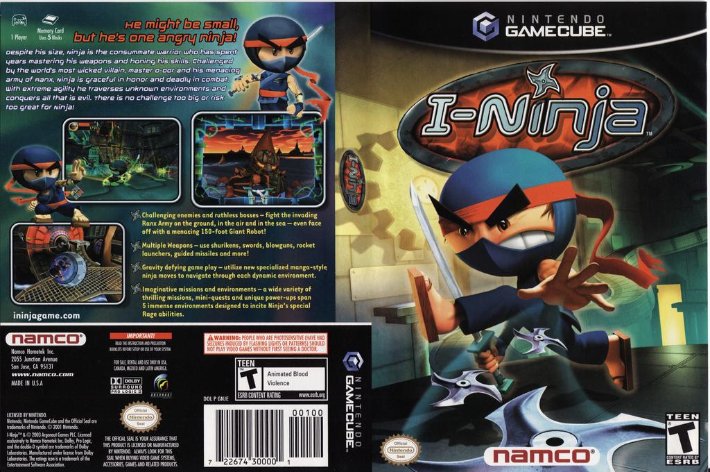 I-Ninja Wii coverfullHQ (GNJEAF)