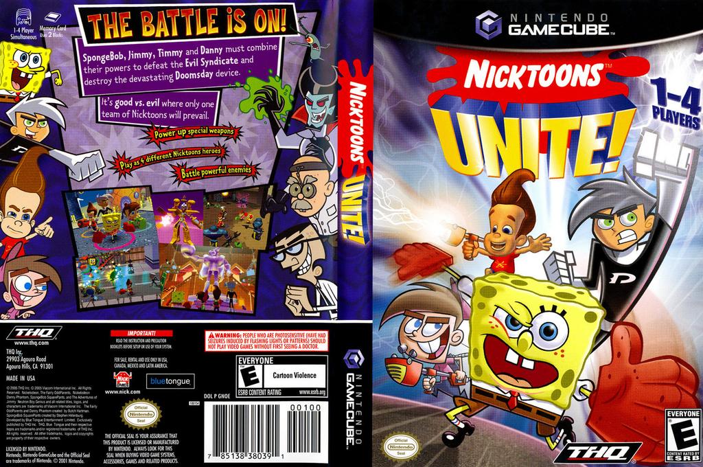 Nicktoons Unite! Wii coverfullHQ (GNOE78)