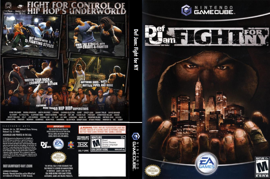 Def Jam: Fight For NY Wii coverfullHQ (GNWE69)