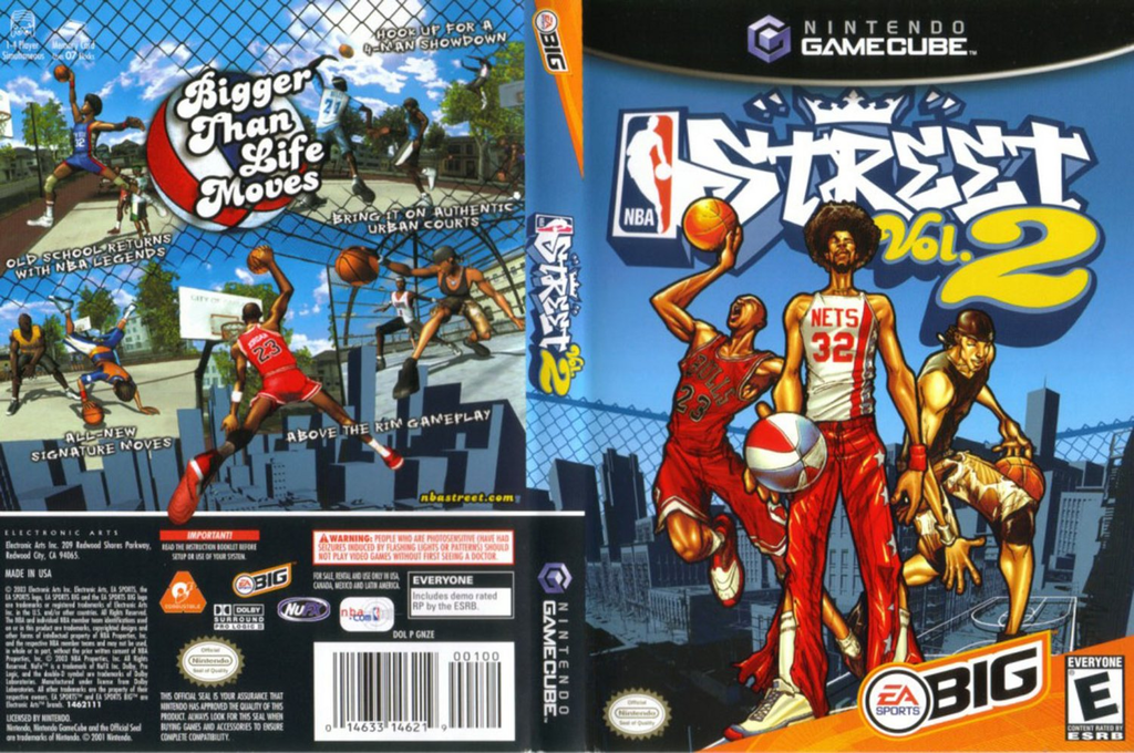 NBA Street Vol.2 Wii coverfullHQ (GNZE69)