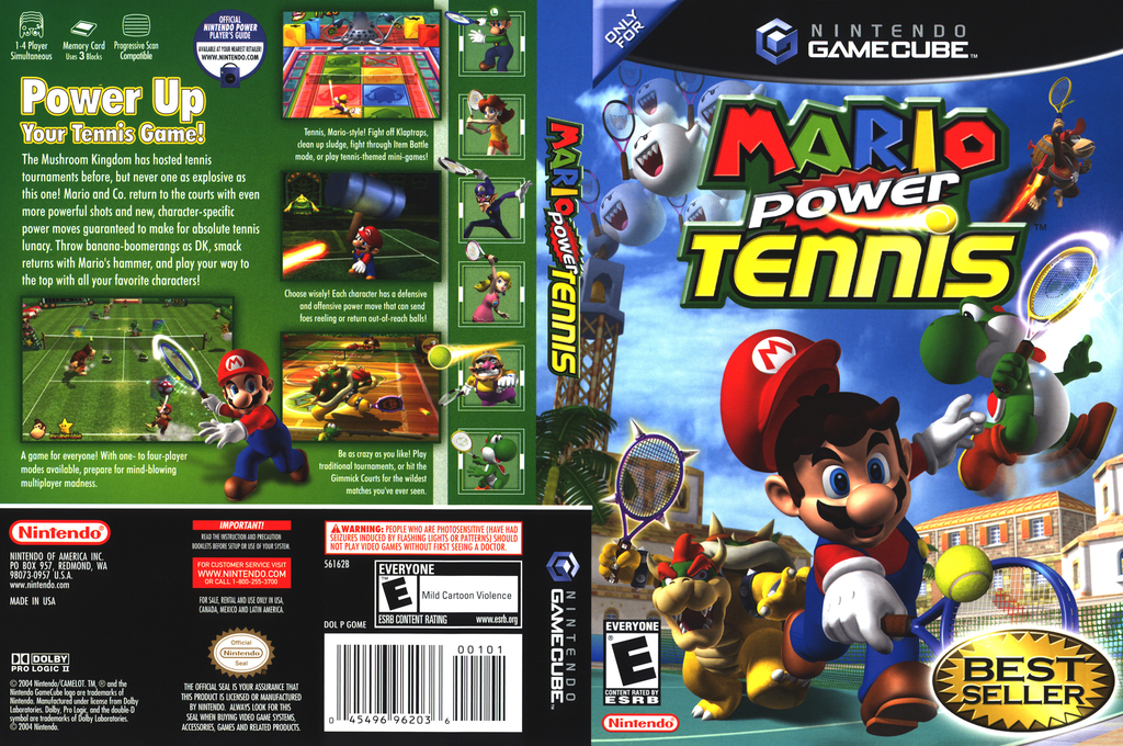 Mario Power Tennis Wii coverfullHQ (GOME01)