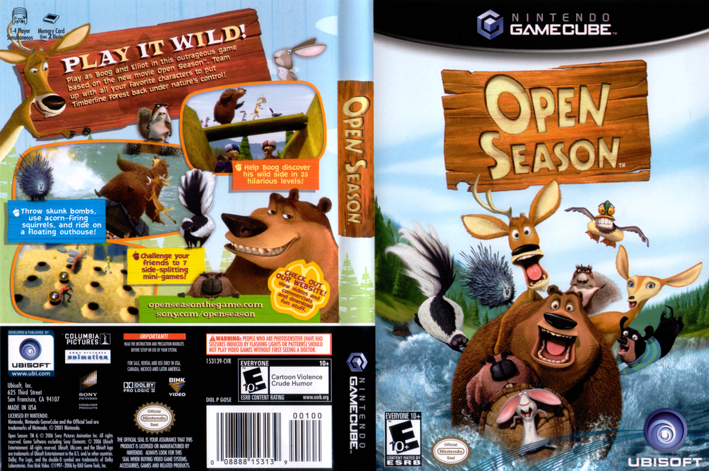Open Season Wii coverfullHQ (GOSE41)