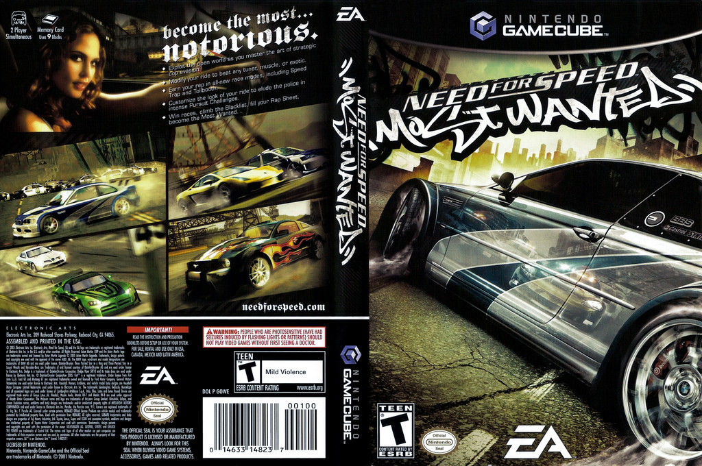 Need for Speed: Most Wanted Wii coverfullHQ (GOWE69)