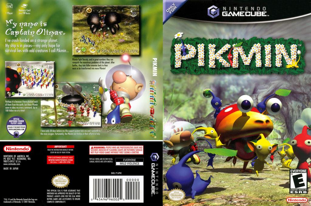 Pikmin Wii coverfullHQ (GPIE01)