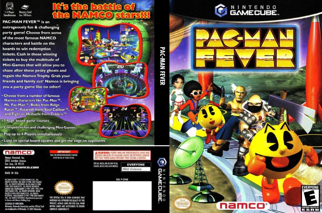 Pac Man Fever Wii coverfullHQ (GPMEAF)
