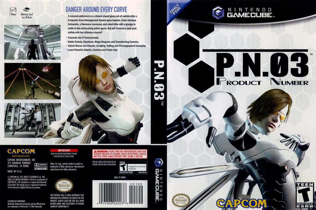 P.N.03 Wii coverfullHQ (GPNE08)