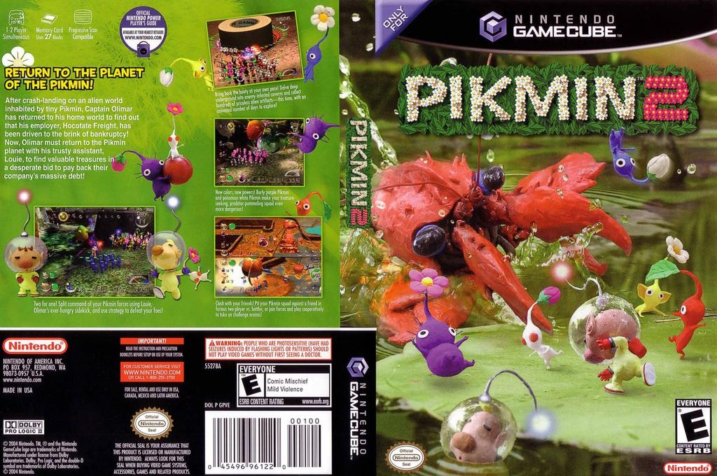 Pikmin 2 Wii coverfullHQ (GPVE01)