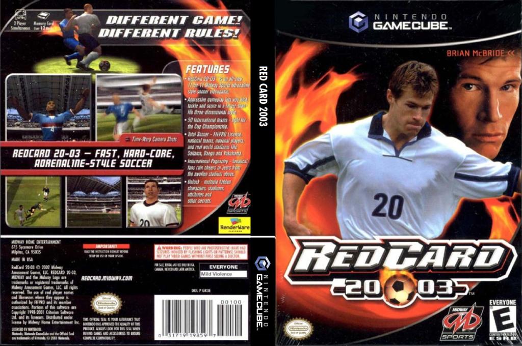 Red Card 2003 Wii coverfullHQ (GR3E5D)