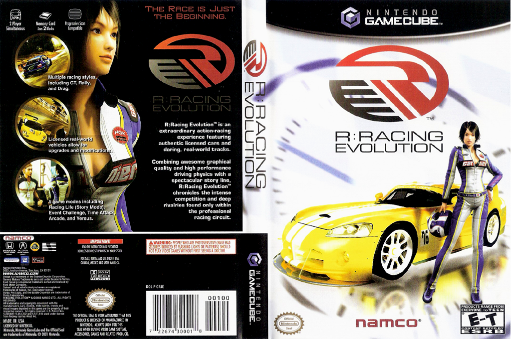 R: Racing Evolution Wii coverfullHQ (GRJEAF)