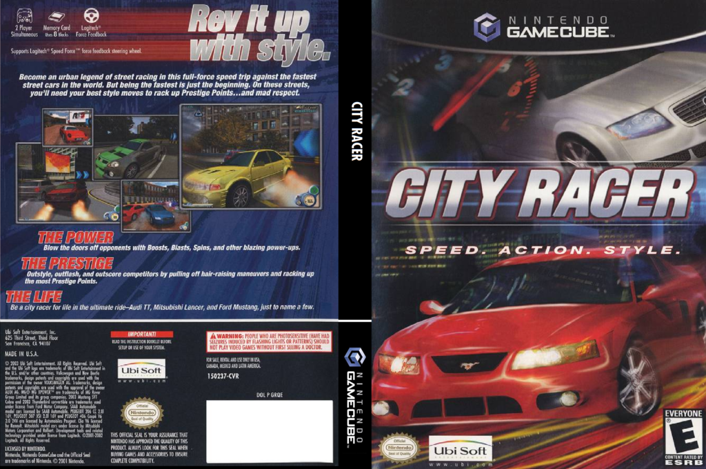 City Racer Wii coverfullHQ (GRQE41)