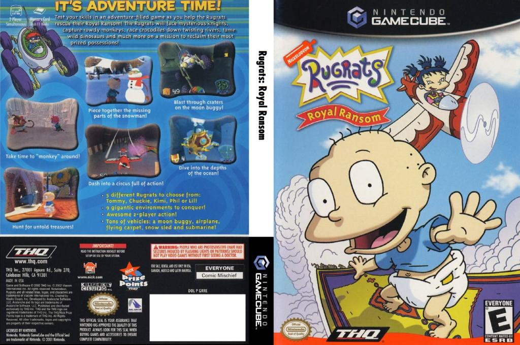 Rugrats: Royal Ransom Wii coverfullHQ (GRRE78)