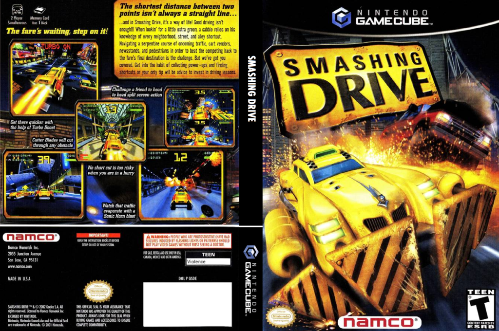 Smashing Drive Wii coverfullHQ (GSDEAF)