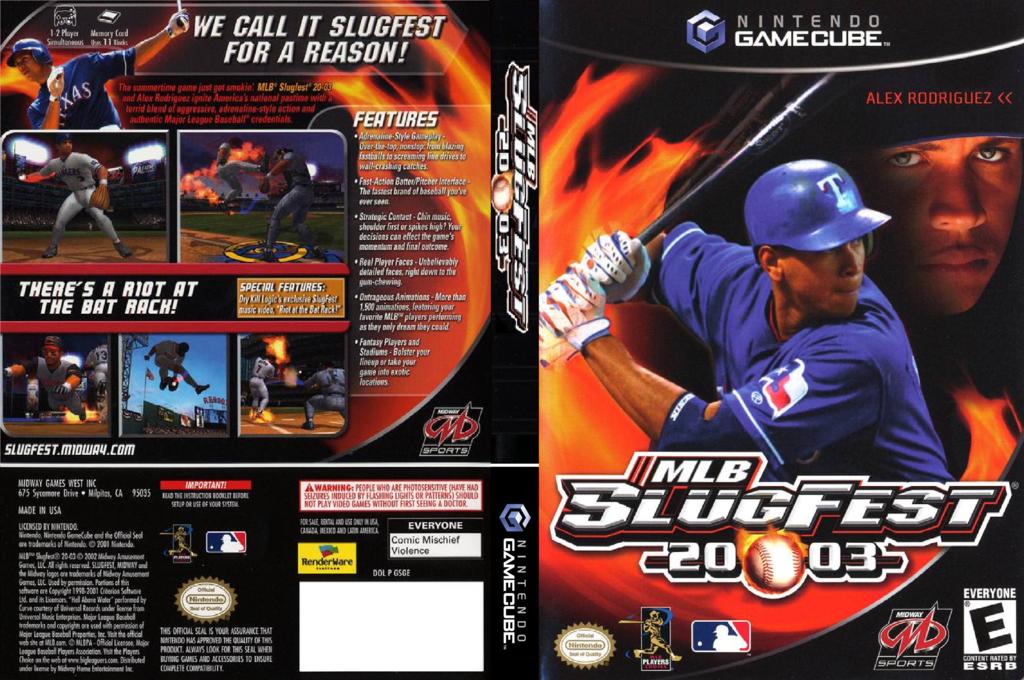 MLB SlugFest 2003 Wii coverfullHQ (GSGE5D)