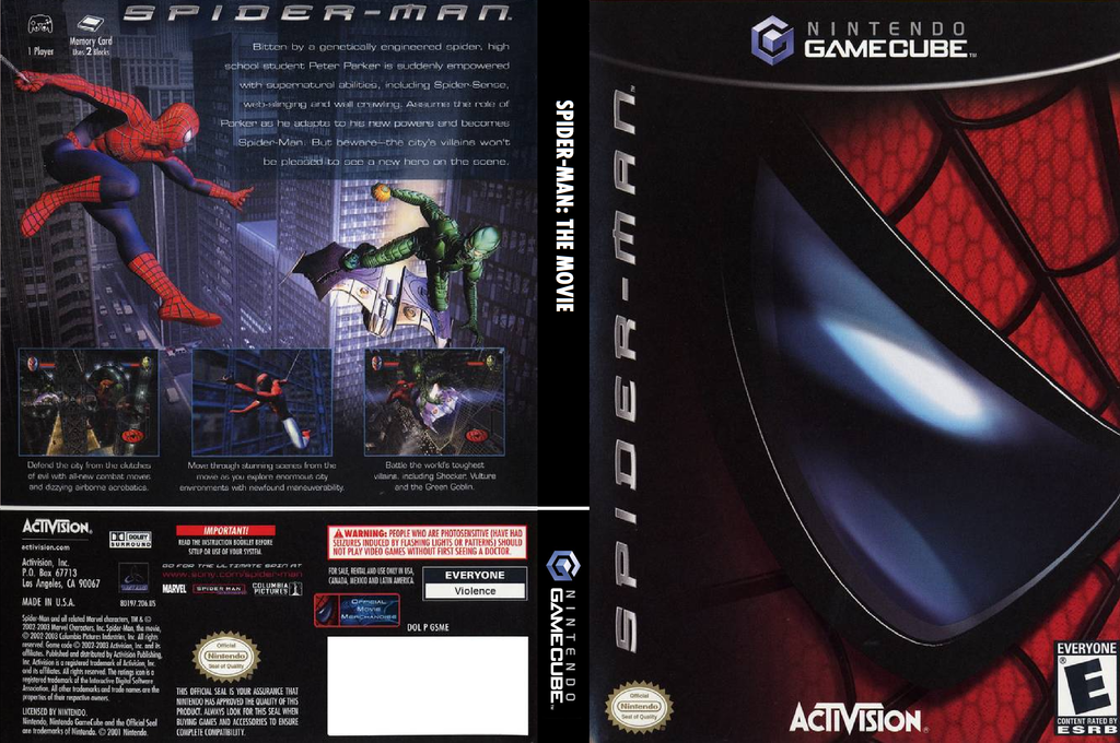 Spider-Man: The Movie Wii coverfullHQ (GSME52)